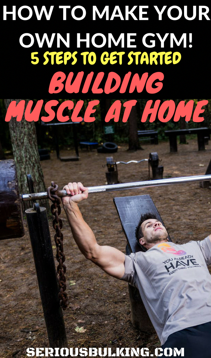 Learn how to build your very own home gym so you can start