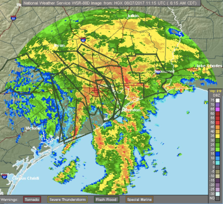 Houston Faces Catastrophic Flooding And Rain As Tropical ...