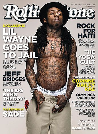 Lil Wayne Rolling Stone Cover Lil Wayne Rolling Stone Magazine Cover Best Rapper Alive