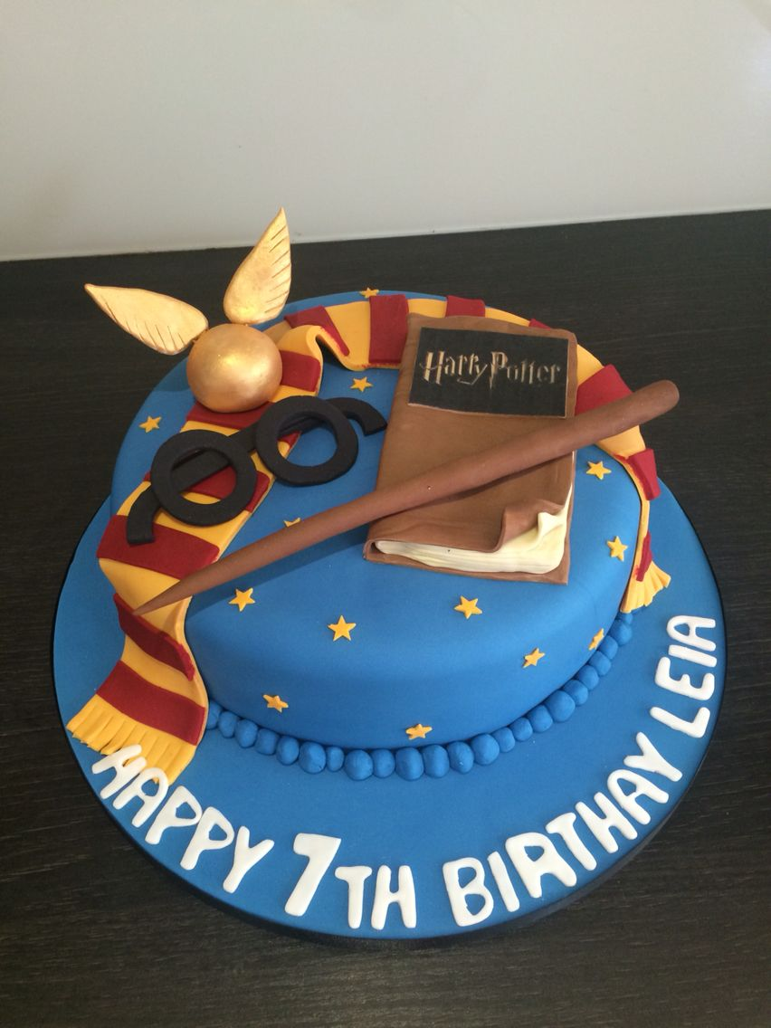 Harry Potter Cake By Victoria Defty Couture Cakes