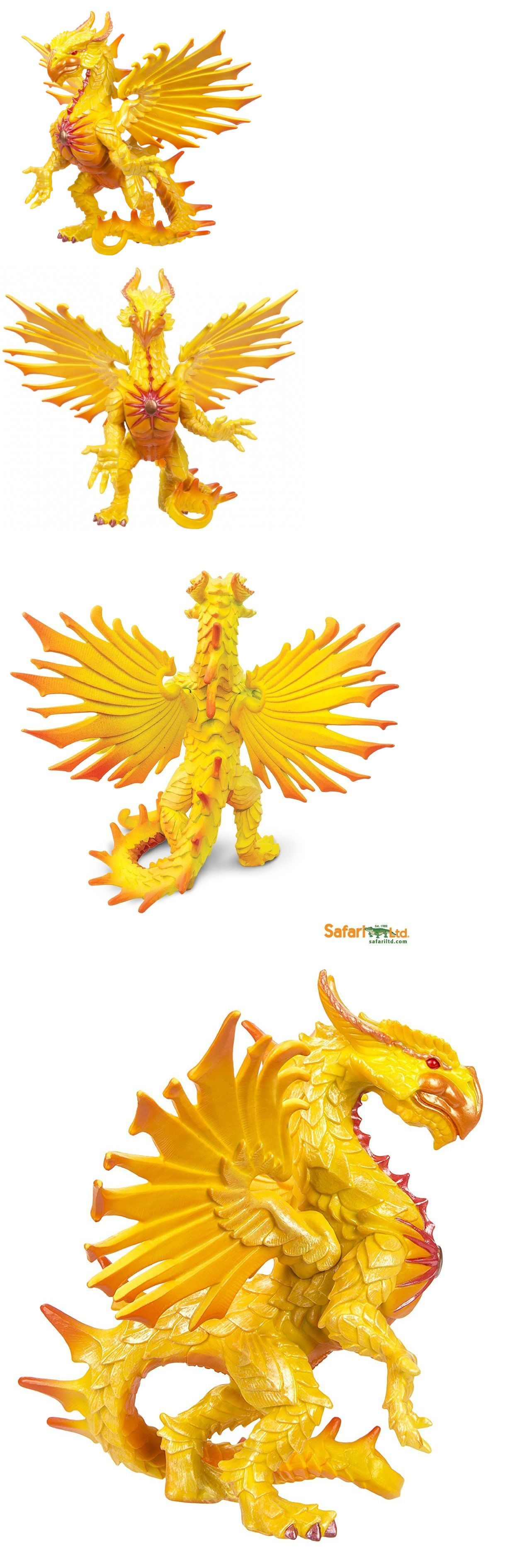 Sun Dragon ~ Safari Ltd # 10134 ~ mythical figure toy