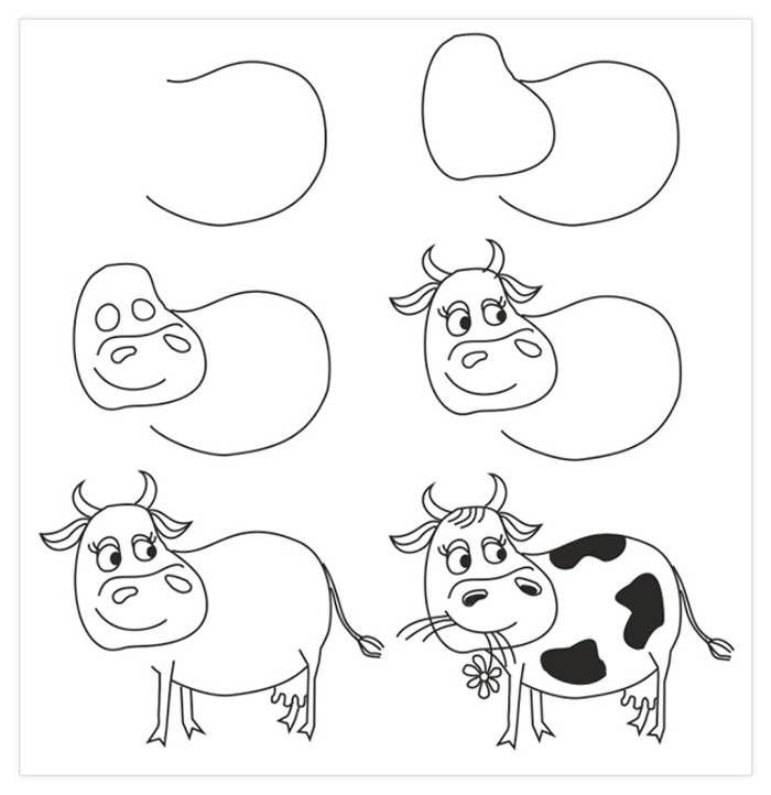 15 Dibujos A Lápiz Que Son Muy Fáciles Para Dibujar Con Los Niños Animales Faciles De Dibujar Dibujos Faciles Para Niños Aprender A Dibujar Animales