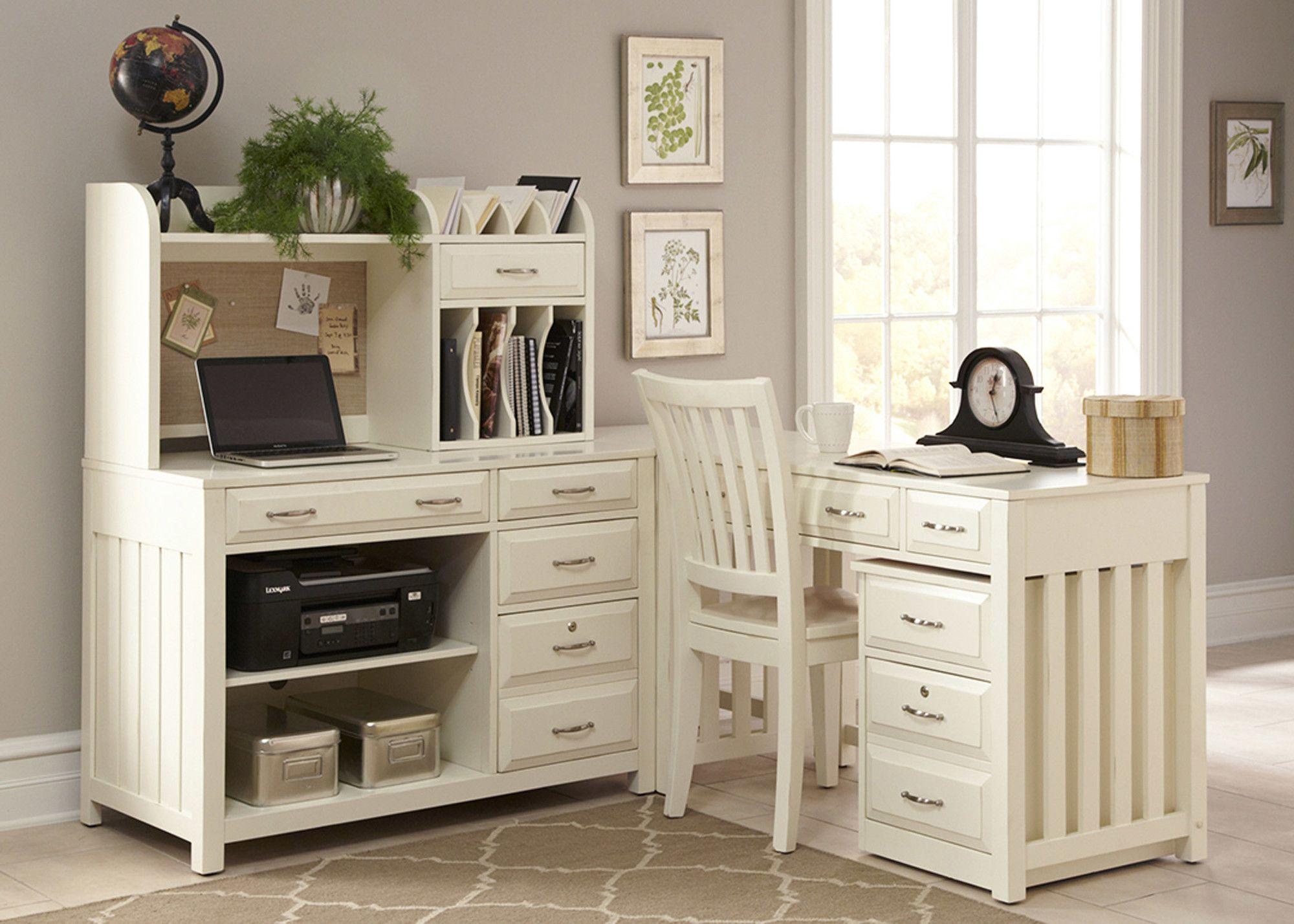 Computer Credenza Desk   Wayfair   Decorating-Office   Pinterest ...