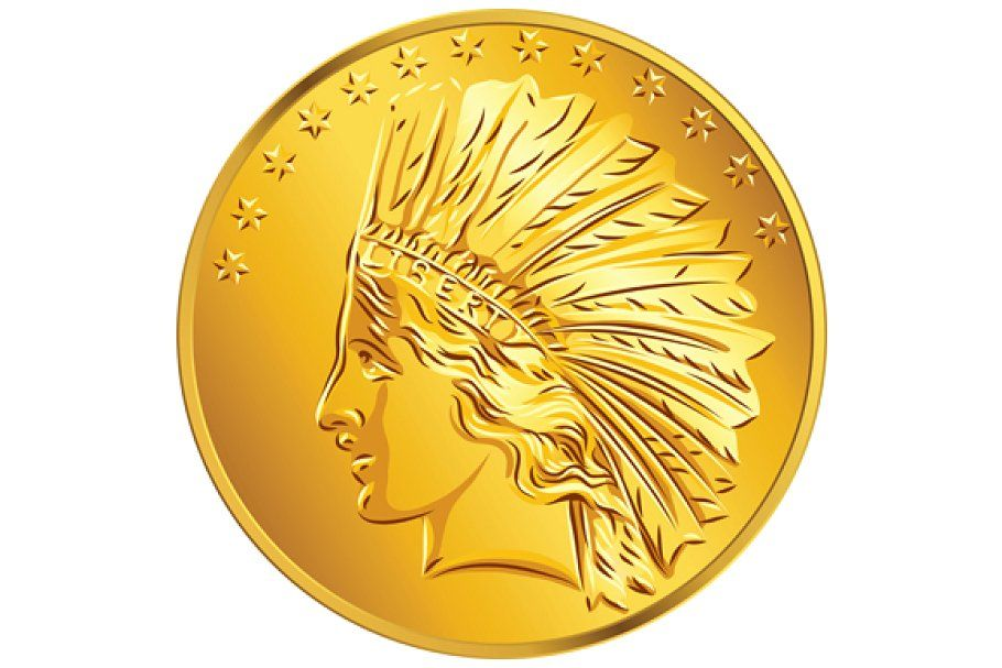 American Money One Cent Gold Coin In 2020 Gold Coins Coins Buy Gold And Silver