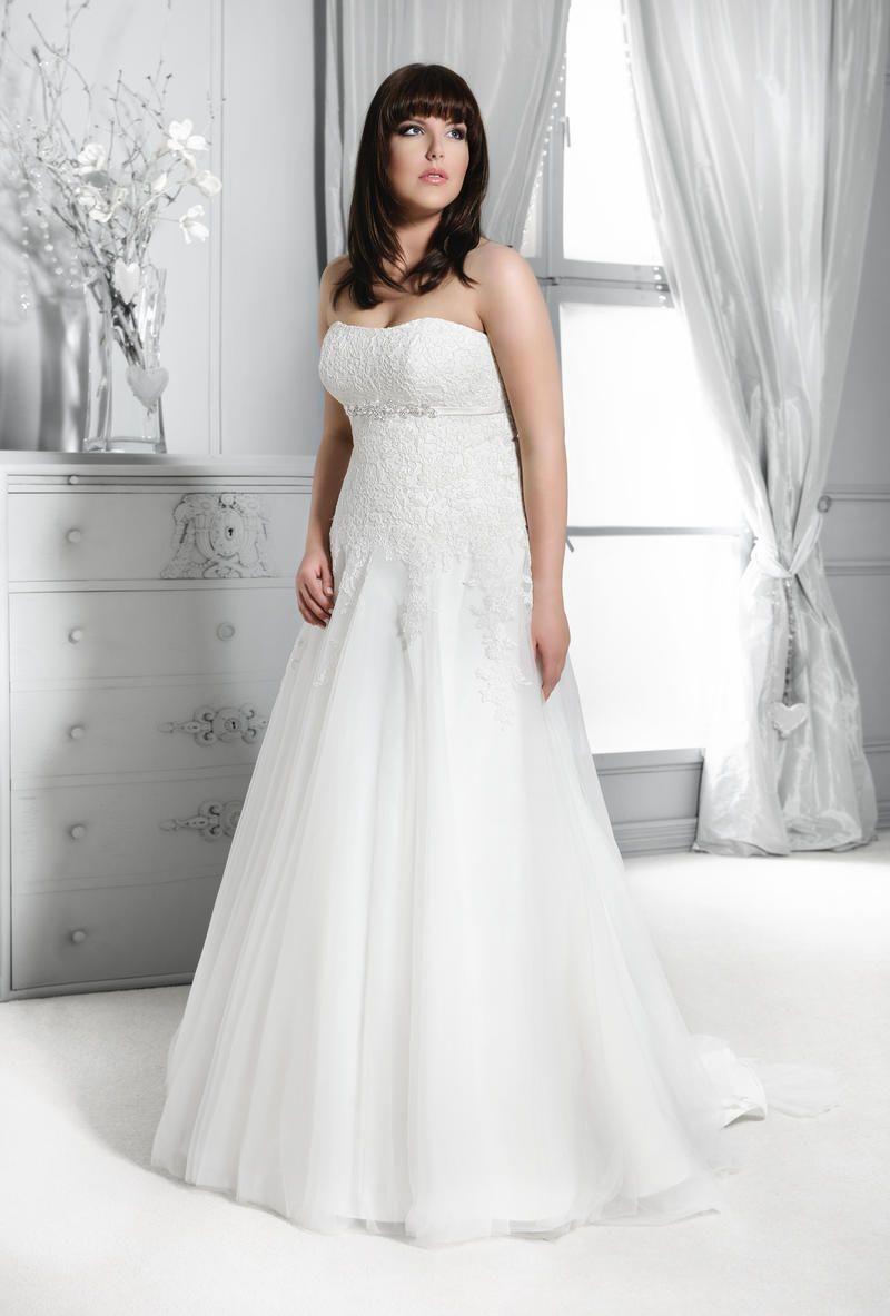 Mode de Pol Plus Size Brautkleid 2015 KA 14217