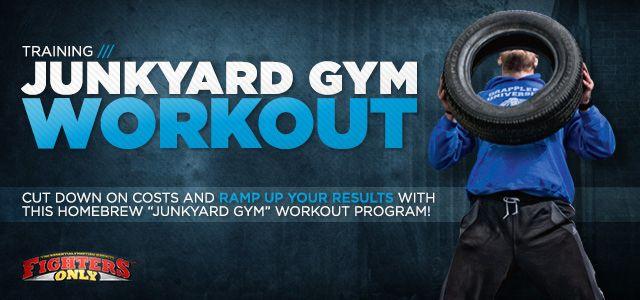 Bodybuilding.com   Junkyard Gym Workout: Build Your Own Backyard Gym