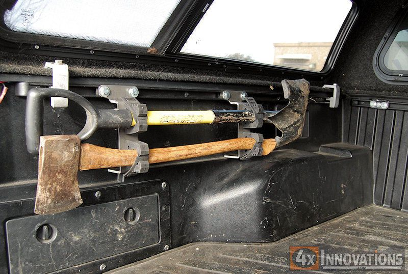 Toyota Universal Bed Rail System Double Quick Fist