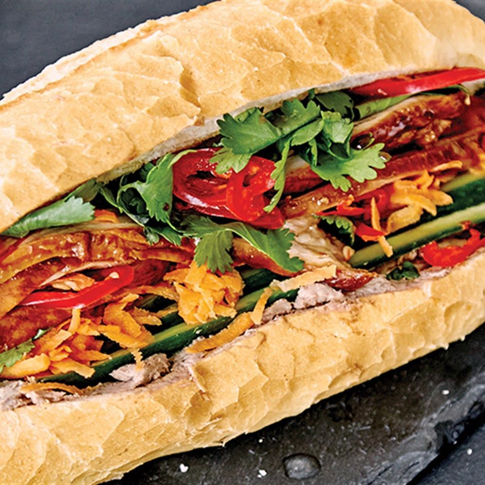 Banh Mi is a beloved Vietnamese dish. Learn how to make a chicken banh mi with this recipe from Aaron Harvie.