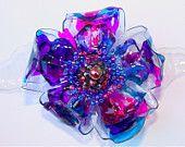 Plastic Bottle Flower, www.etsy.com/shop/glitterpooh $10