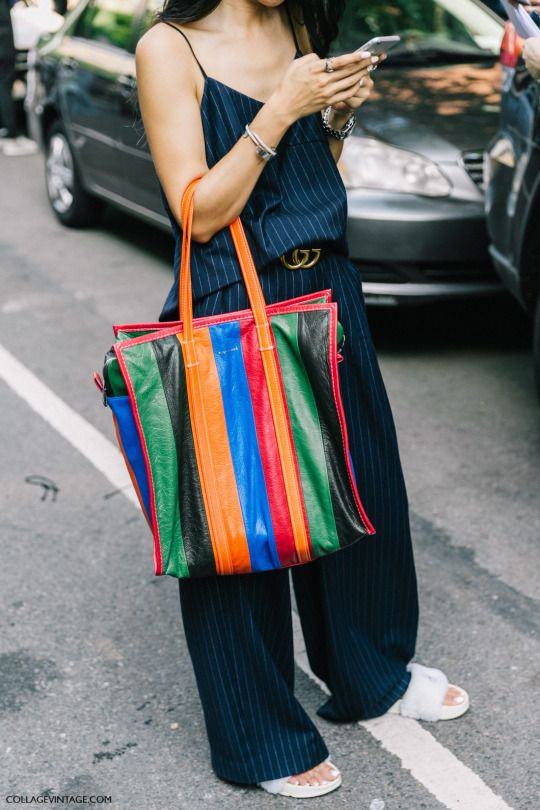 delicate colors shades of search for best Balenciaga Bazar Shopper Tote Bag | Fashion, Nyfw street ...