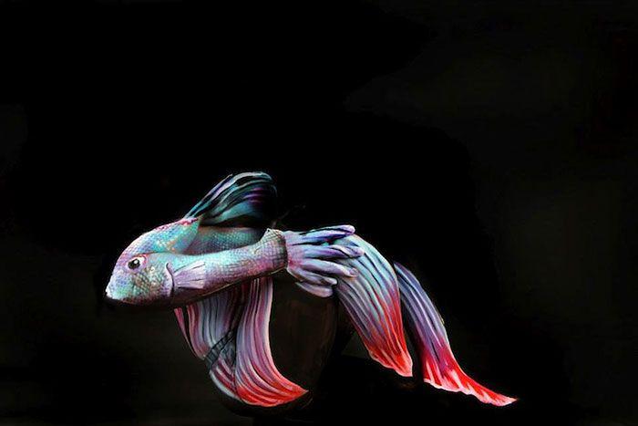 22 Stunning Examples Of Animal Body Art Body Art Painting Human Body Art Body Painting