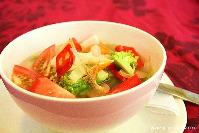 Resep Sup Tahu Telur Resep Sup Makanan Resep Masakan