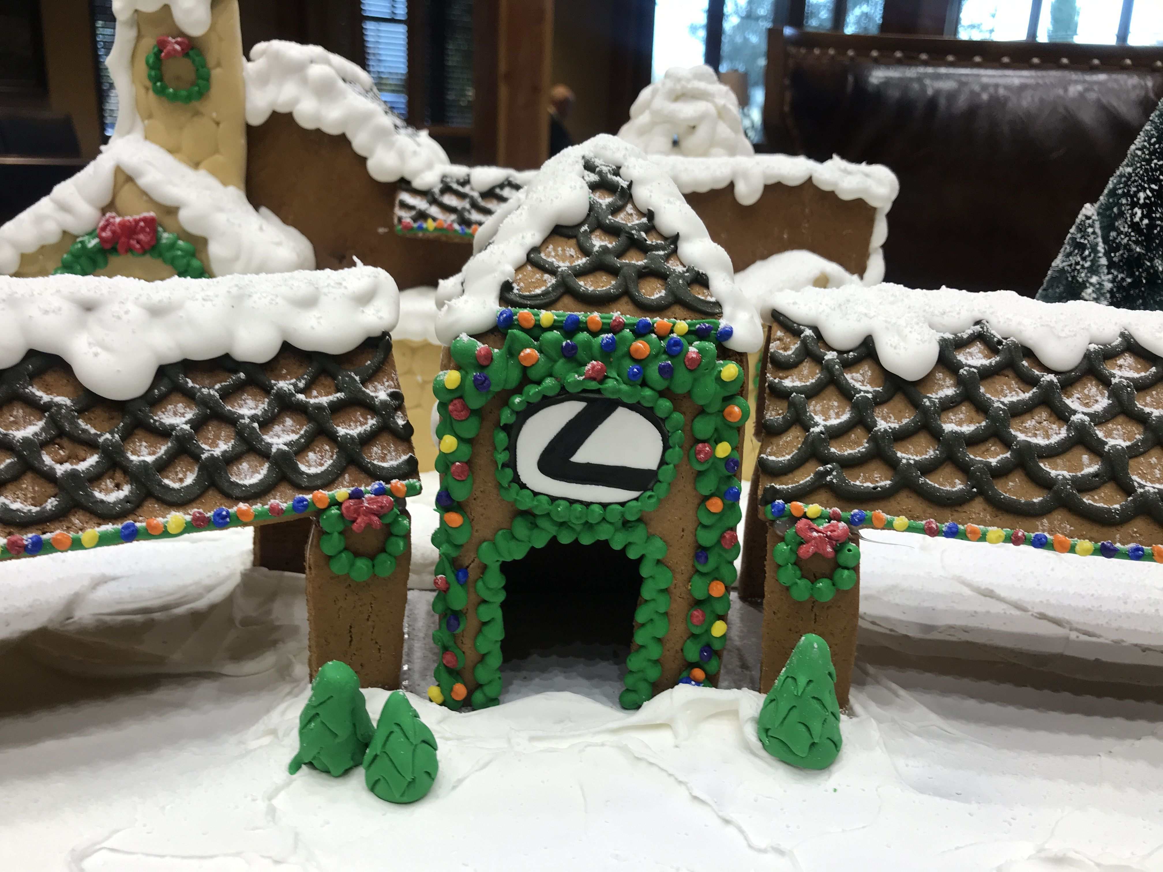 Custom Gingerbread House   Lexus At Dominion. Lexus Dealership In San  Antonio.