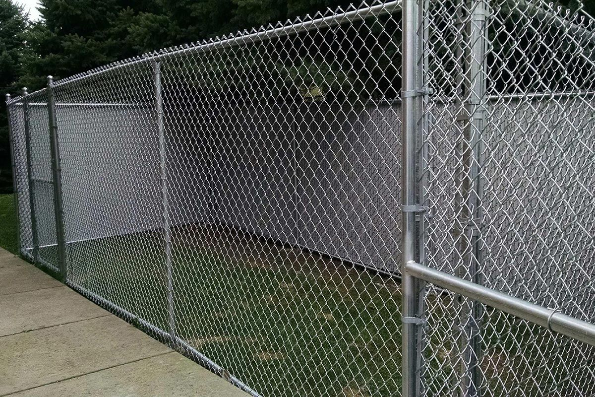 Chain Link Fences First Fence Chain Link Fence Installation Chain Link Fence Dog Run Fence