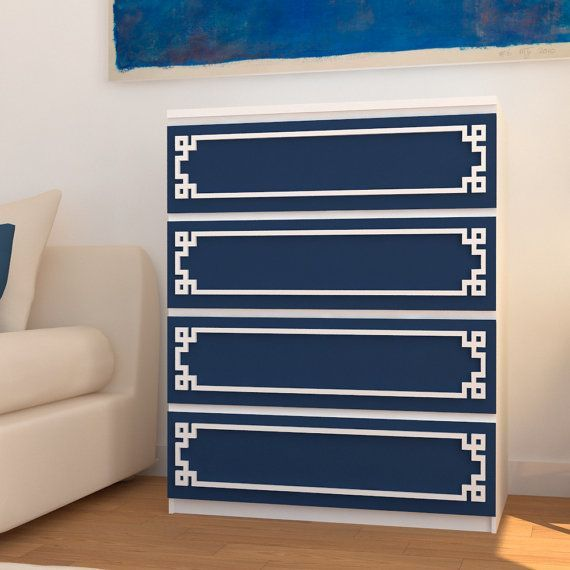 Greek Pattern Fretwork Panel #refurbish By HomeArtStickers