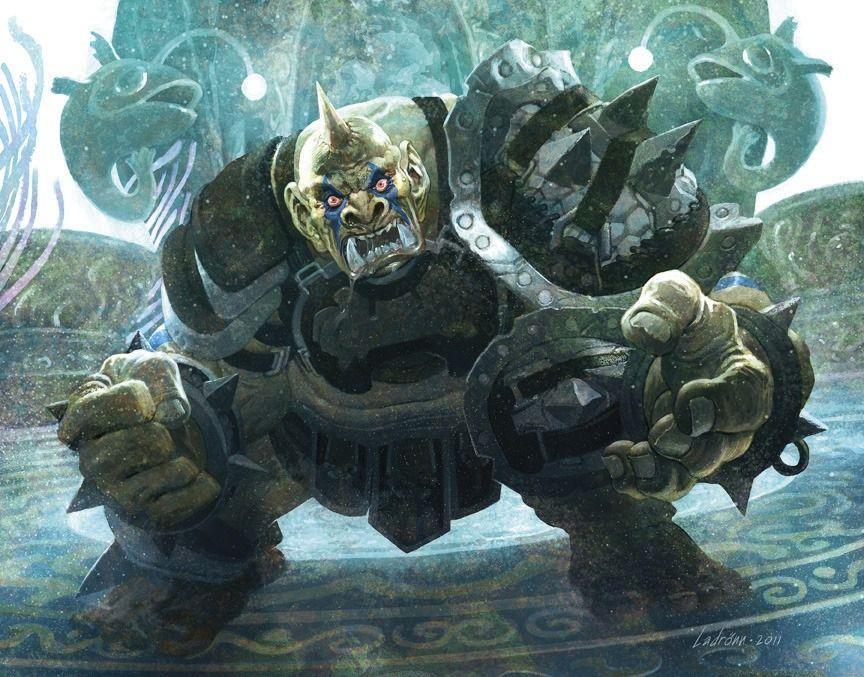 Resultado de imagen para ogre warcraft art