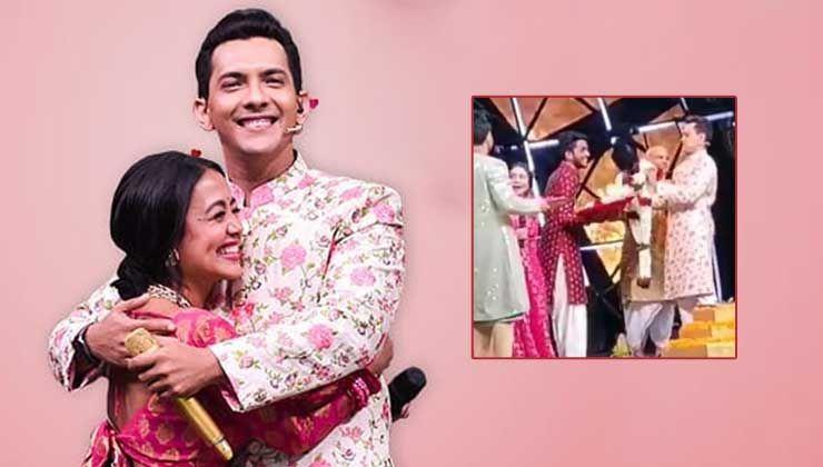Neha Kakkar And Aditya Narayan Get Married On Sets Of Indian Idol 11 Watch Video In 2020 Indian Idol Neha Kakkar Getting Married