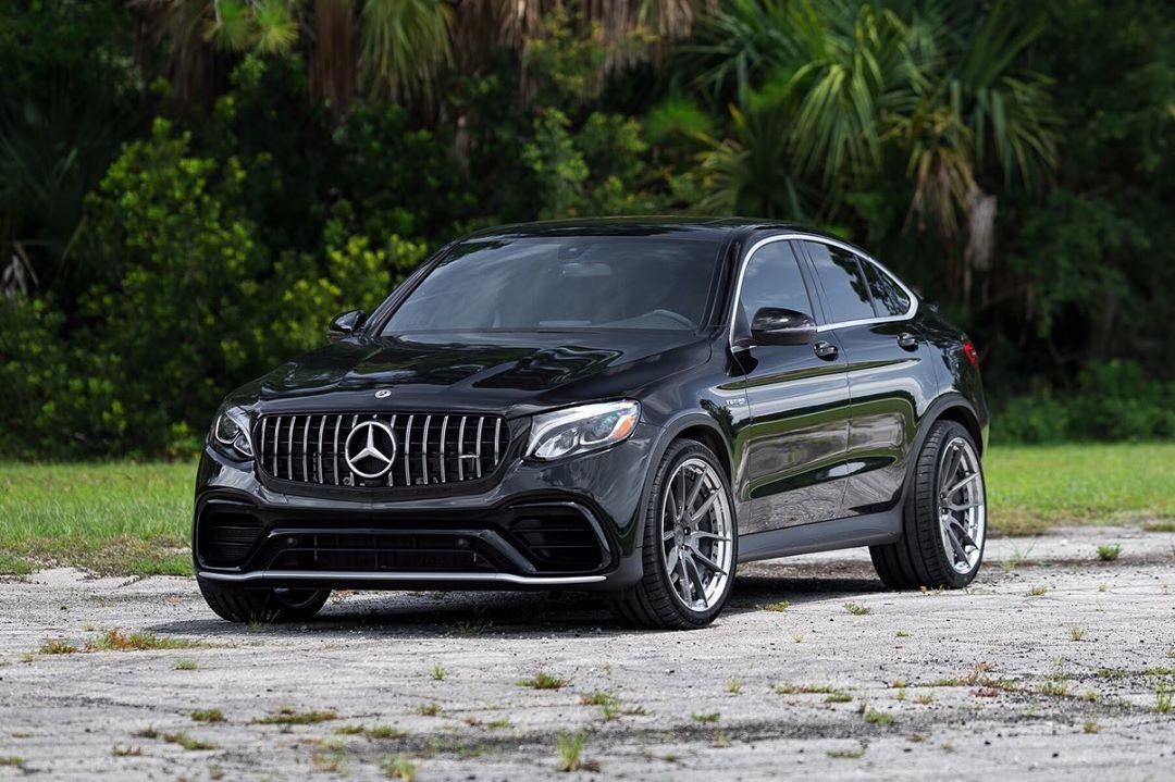 Mercedes Benz Glc63 Amg Coupe Hca162s Gloss Gunmetal Centers