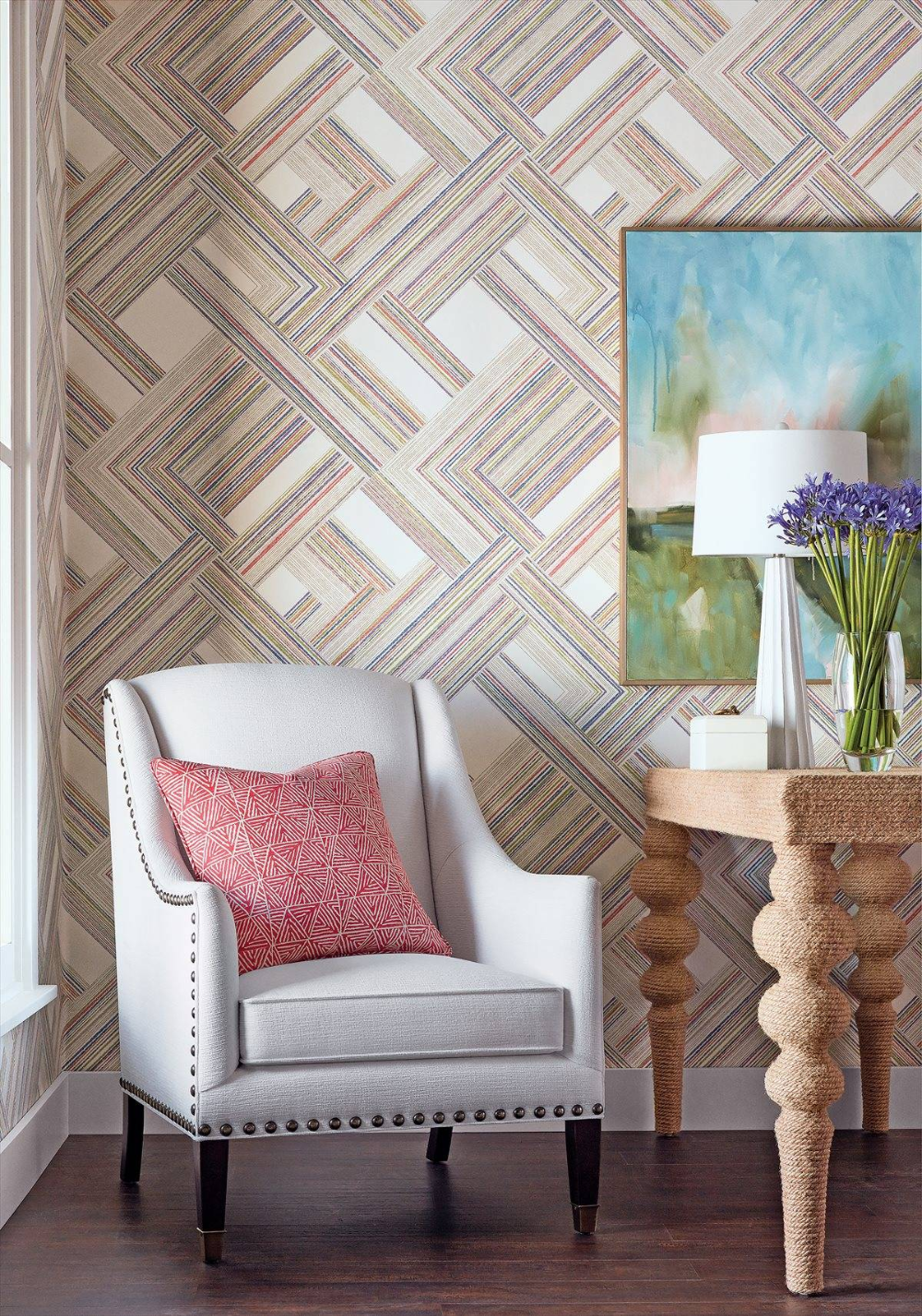 Telaio T10448 in 2020 Bright wallpaper, Geometric