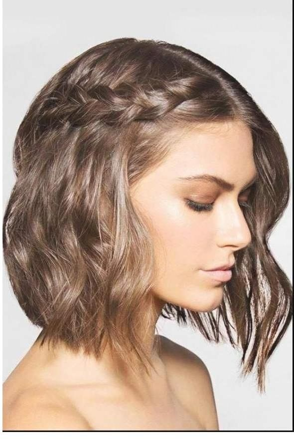 Flechtfrisuren Fur Kurze Haare Frisuren 2018 Short Hair Styles