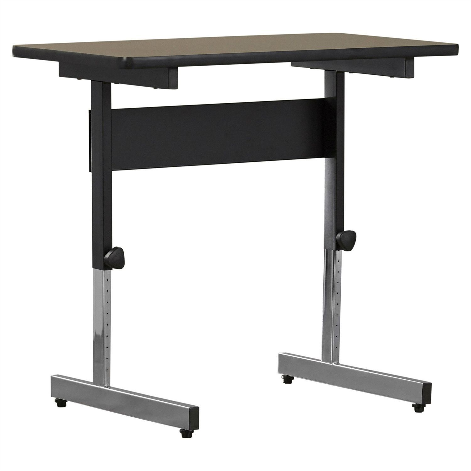Stand up desk adjustable height sitting or standing writing tablet