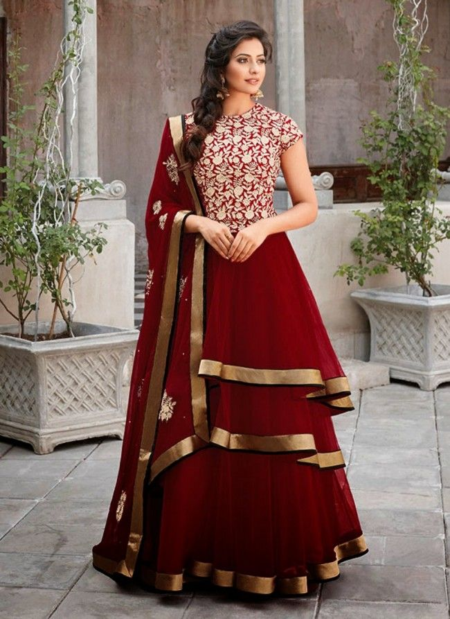 Party dress indian style