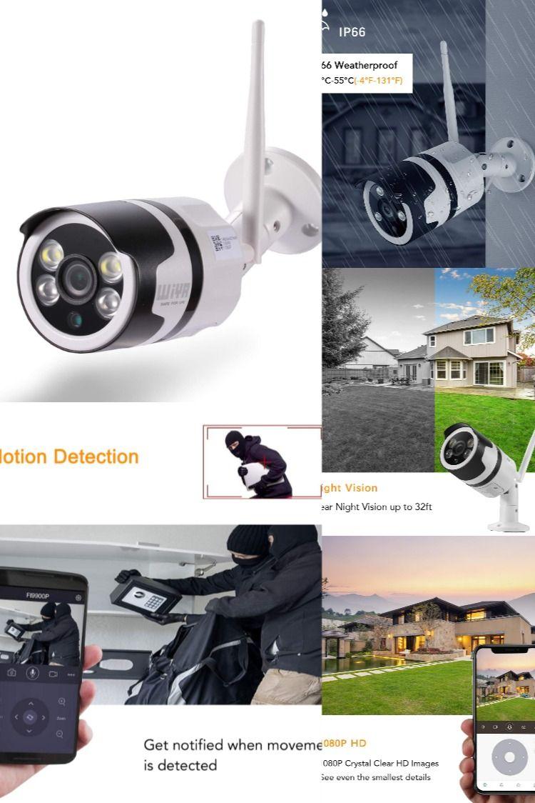 Wiya 1080p Hd Outdoor Security Camera Outdoor Security Camera Security Camera Surveillance Cameras