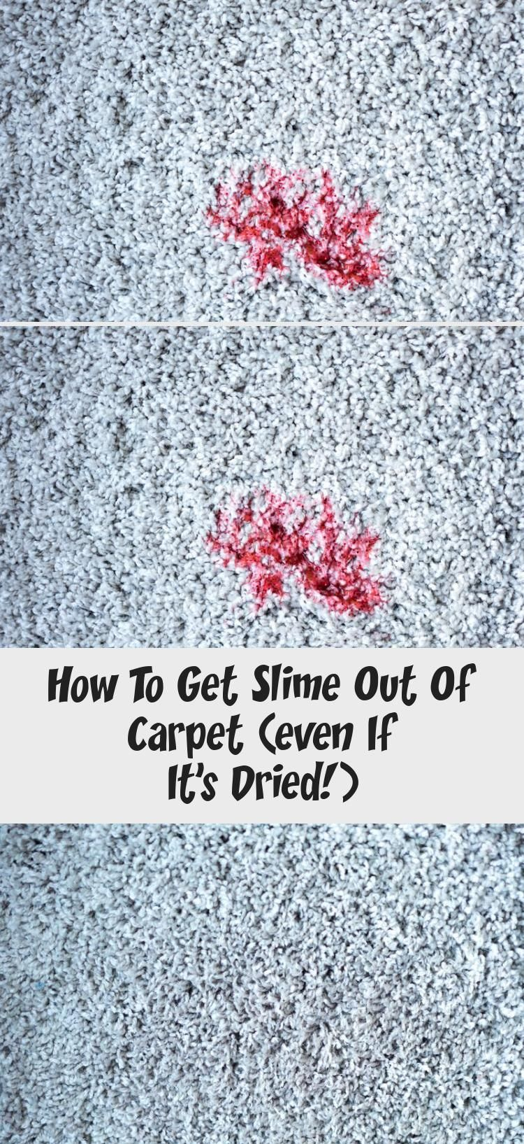 How To Get Slime Out Of Carpet Very Easy Cleaning Tip For How To Get Dried Slime Out Of Carpet It S Easy To Remove How To Clean Carpet Types Of Carpet