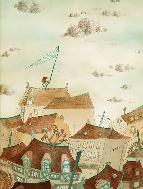 by Isabelle Demarly kejfrgn Pinterest Nuage, Marie et Plafond - meilleure peinture pour plafond