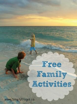 Check out these free family activities that the entire family can enjoy. From walks in the park to indoor fort movie nights, the summertime family fun will never end!