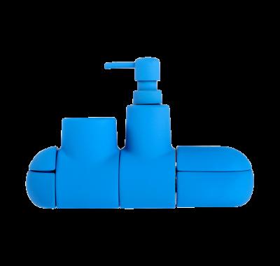 Submarino Bath Set, Blue
