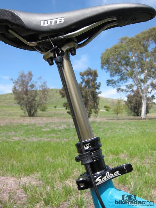 Fox Doss Seatpost Review New Fox Bike Mountain Biking