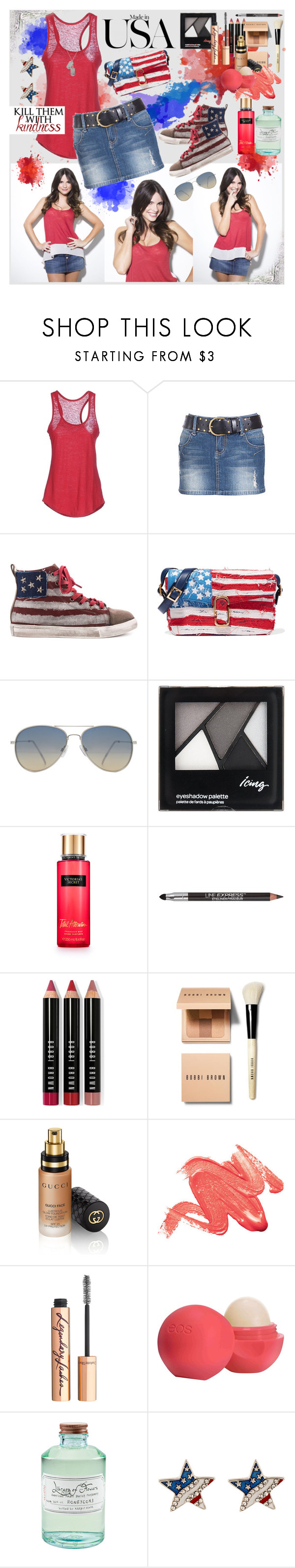 """Kindness"" by julyralewis ❤ liked on Polyvore featuring Majestic, Penny Sue, Marc Jacobs, MANGO, Maybelline, Bobbi Brown Cosmetics, Gucci, Charlotte Tilbury, Eos and Library of Flowers"