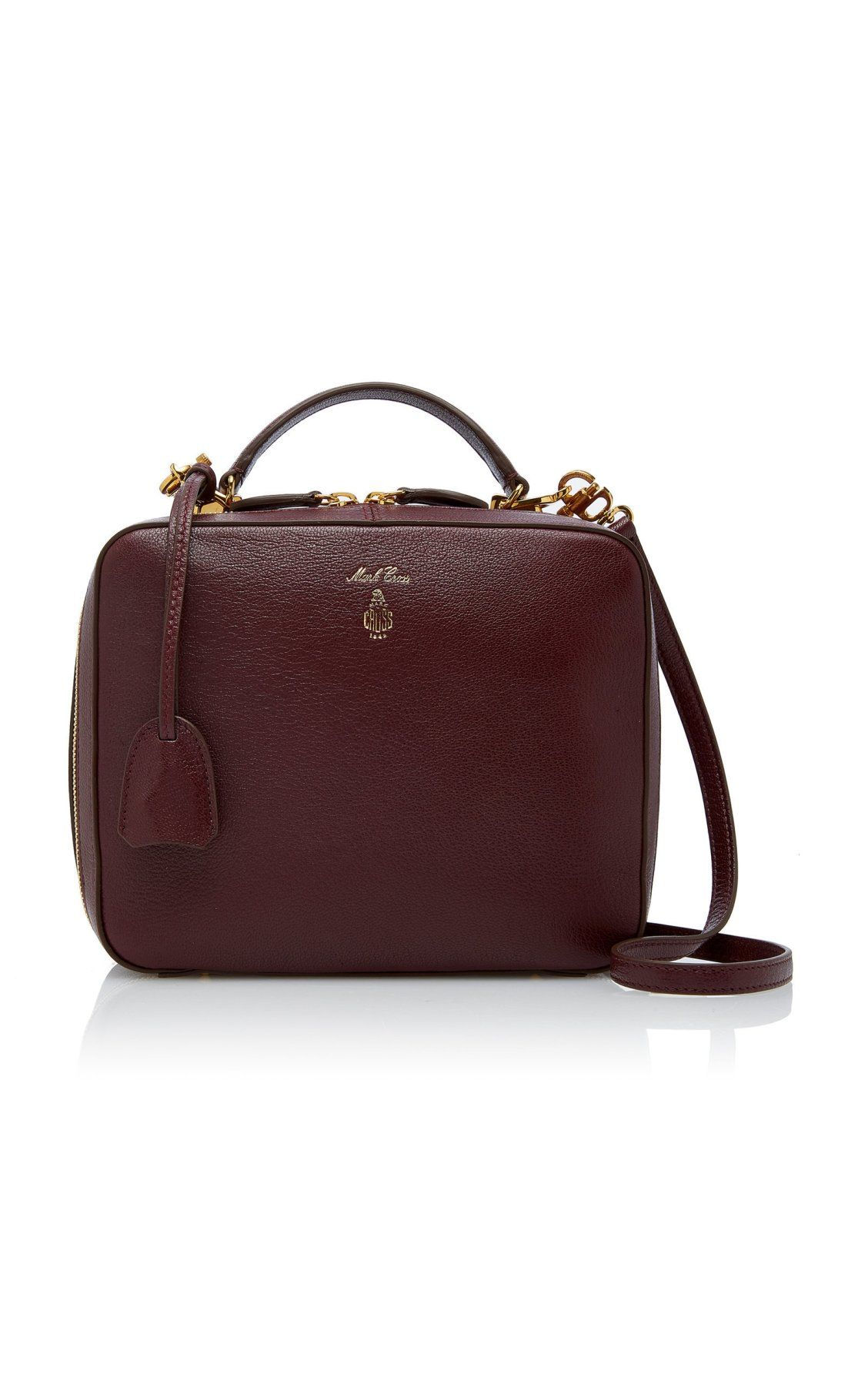 ea73a1405c67 Laura Leather Bag by Mark Cross PF19