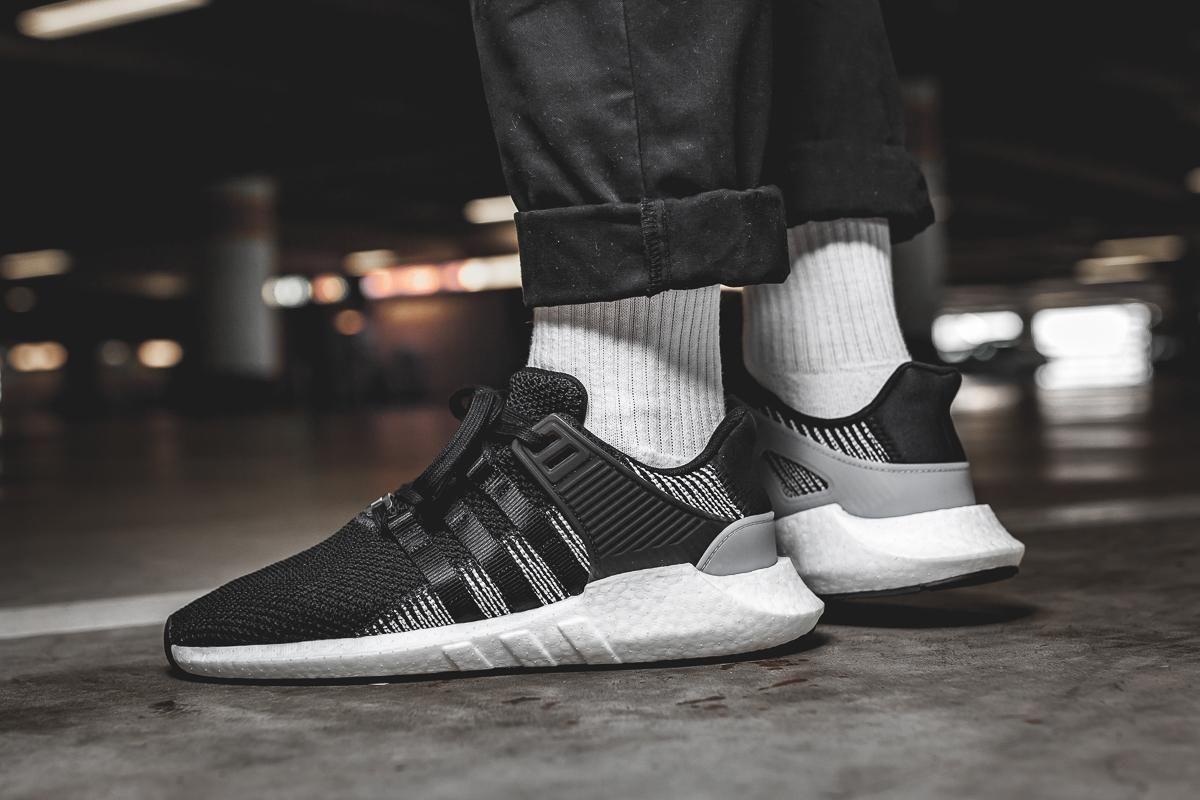 5a4d5037e1e0 On-Foot  adidas EQT Support 93 17  Core Black  - EU Kicks  Sneaker Magazine