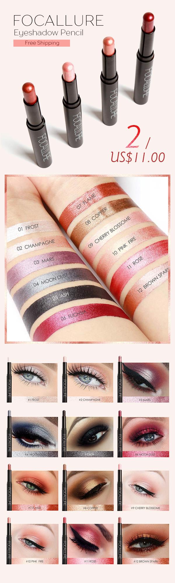 Newchic Online Shopping 48off Focallure Eyeshadow Pencil
