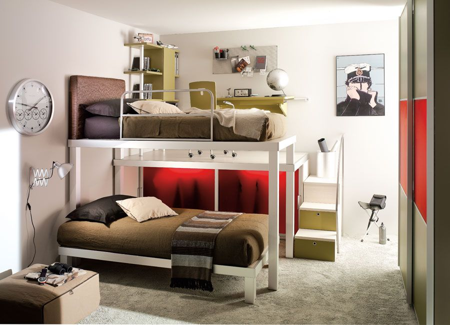 Girls Loft Beds for Teens Home » Teen Bedroom Designs by Tumidei