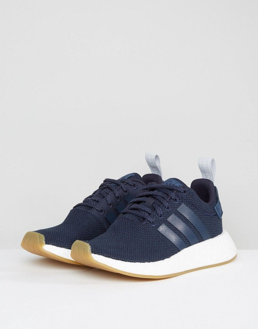 42f49041f adidas Originals NMD R2 Sneakers In Navy - Navy