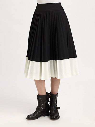 Marc by Marc Jacobs - Tara Tonic Pleated Skirt - Saks.com