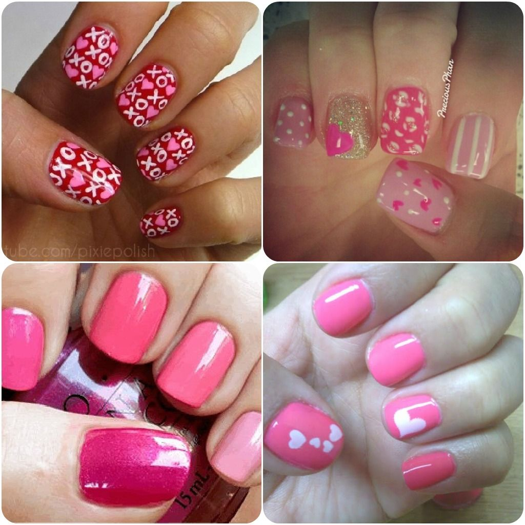 Valentines nail art - check out all the different designs on this ...