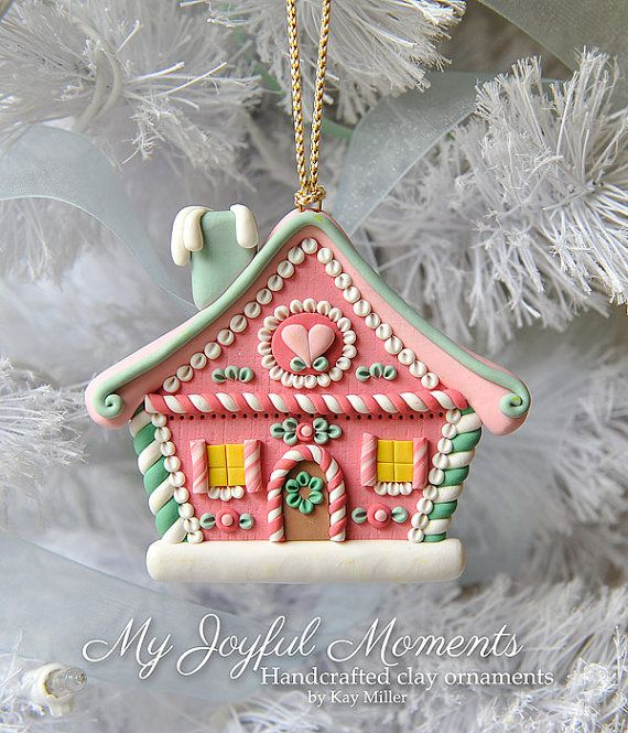 how to make polymer clay christmas ornaments