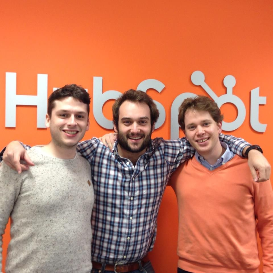 Tommy, NIco & Mat @ HubSpot