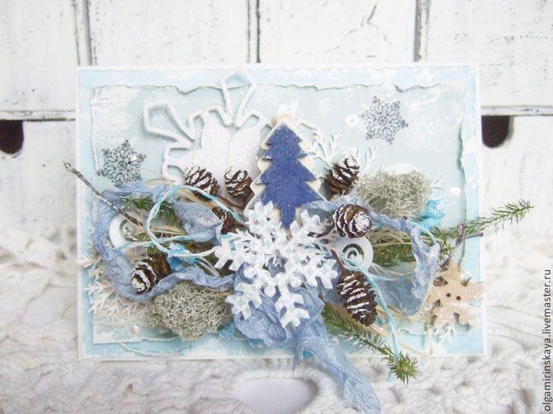 Новогодние открытки Ольги Миринской