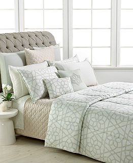 Barbara Barry Bedding Sanctuary Scroll Collection Bedding