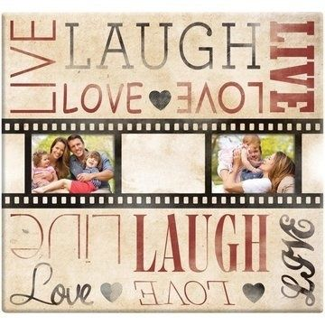 Geniet van de liefde, dit Live Laugh & Love album is speciaal voor al uw romantische scrapbook pagina's. Liefdevolle herinneringen van vroeger en nu verzameld u voortaan in dit prachtige fotoalbum. $27,00