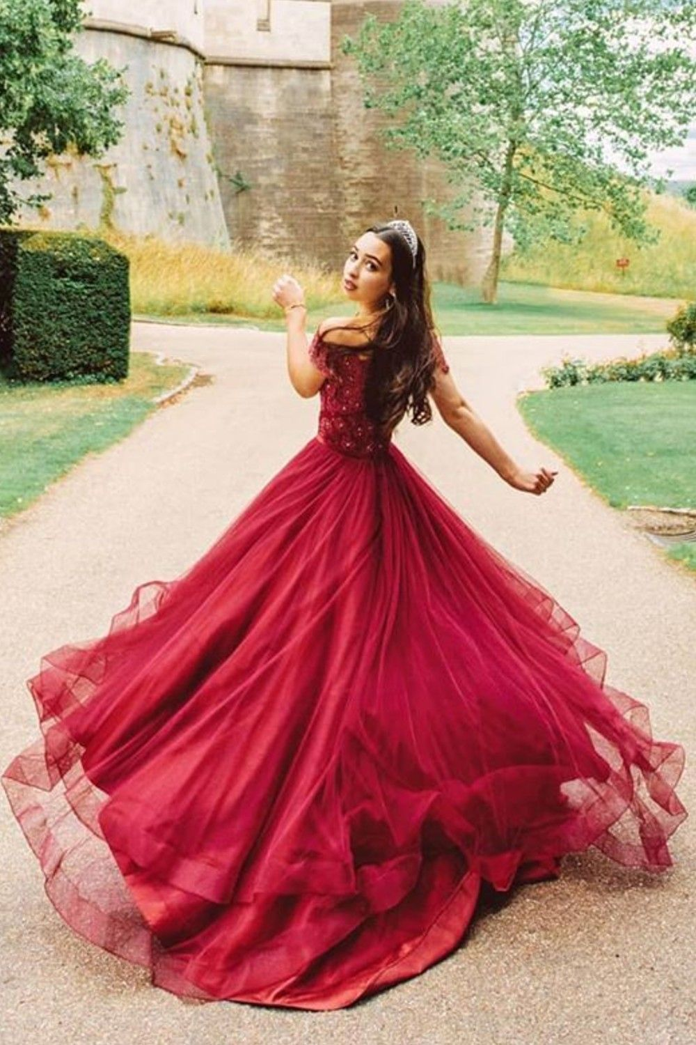 Us 90 00 A Line Off The Shoulder Asymmetrical Tulle Prom Dresses With Beading Sequins Bow S Jj S House Tulle Prom Dress Dresses Prom Dresses [ 1500 x 1000 Pixel ]