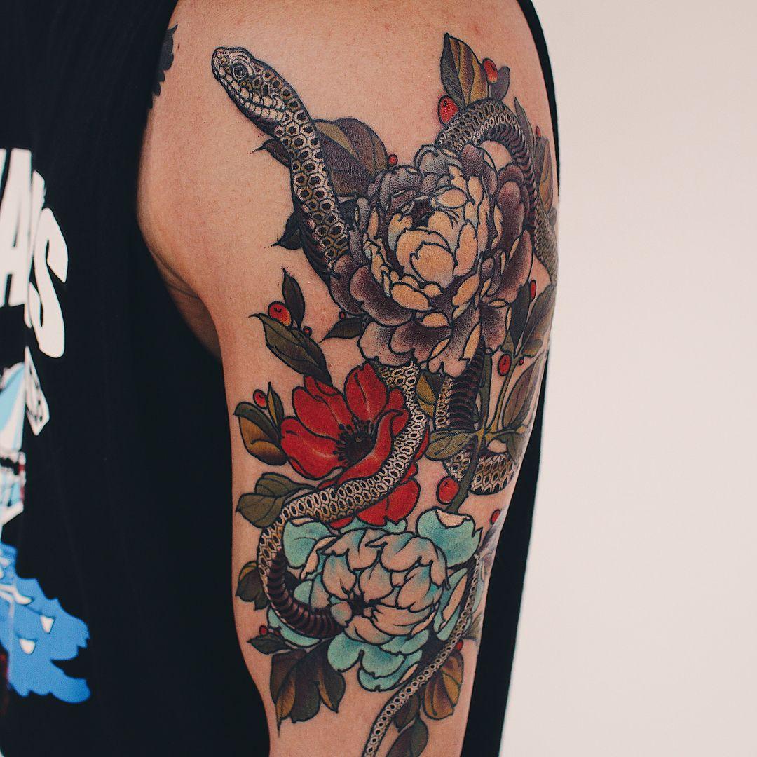 Snake Tattoos Tattoos, Snake tattoo design