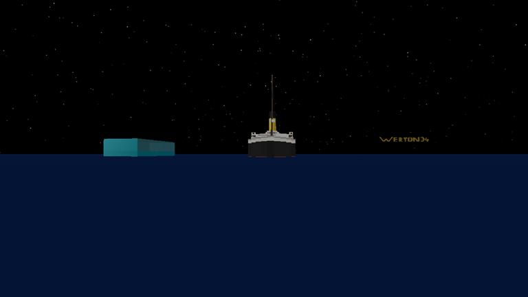 Roblox Titanic I Survived Survive The Titanic Improved Iceberg Roblox Titanic Survival Roblox