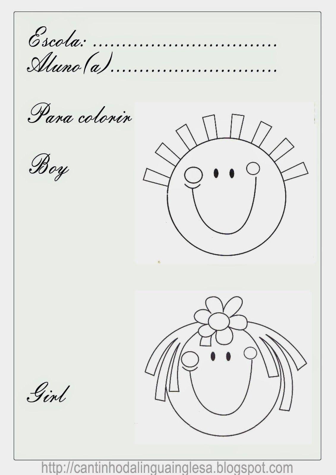 Plano De Aula De Ingles Simples Para Criancas De 3 4 E 5 Anos