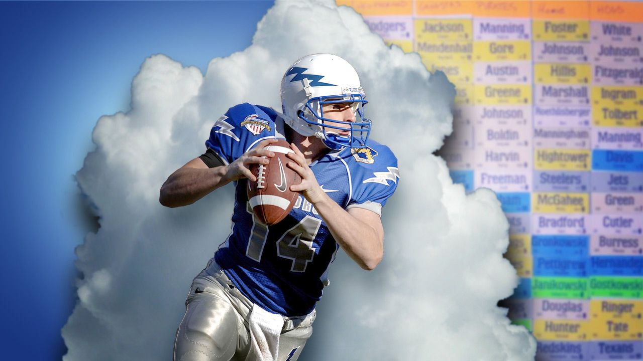 Dominate your fantasy football draft with this cheat sheet
